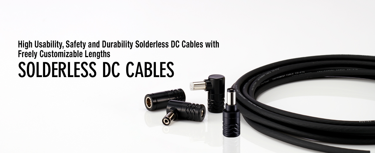 SOLDERLESS DC CABLES